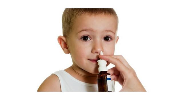 Спрей от насморка для детей 1, 2 и 3 года для носа