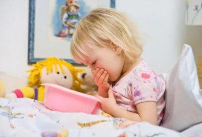 Рвота при ангине у детей и взрослых - что делать при тошноте