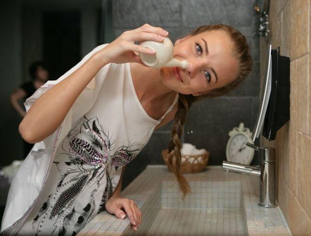 Как избавиться от слизи в носоглотке – как убрать и удалить мокроту (лечение)