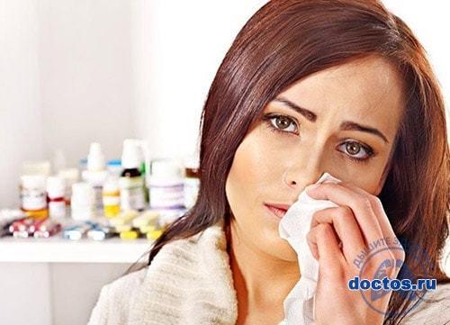 Постоянный насморк и сопли в носу - причины у взрослых