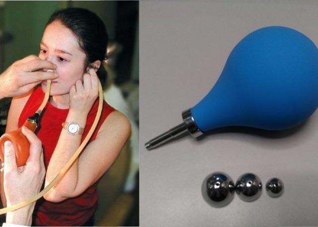 Продувание ушей и слуховых труб по Политцеру амбулаторно и в домашних условиях