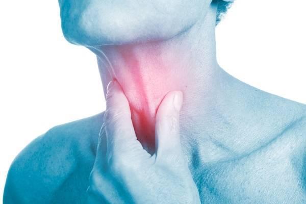Боль в горле в районе кадыка – причины и лечение