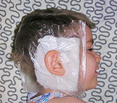 Как правильно сделать компресс на ухо при болях – пошаговая инструкция