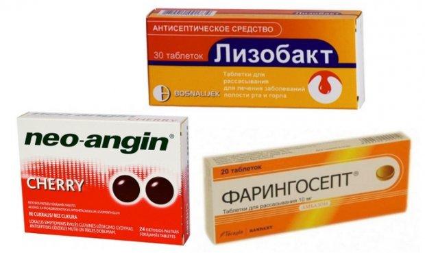 Болит горло при беременности в 3 триместре - чем лечить и полоскать