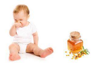 Облепиховое масло в нос детям