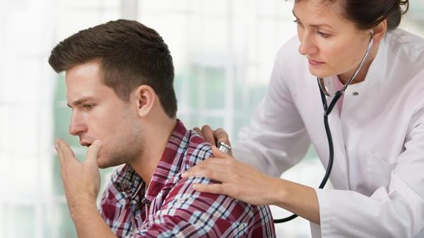 Сухой кашель и температура 37-38 у взрослого