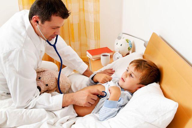 Фарингит у грудничков и детей