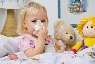 Лечение заболеваний носа у детей