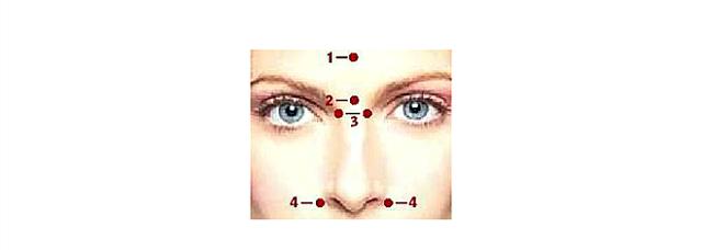 Точечный массаж от насморка – точки на лице от заложенности носа