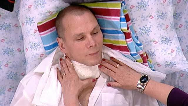 Компресс при ларингите на горло взрослому