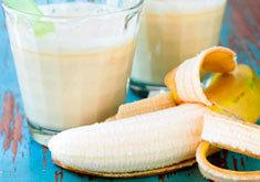 Рецепт от кашля с бананом и какао (мед и молоко)
