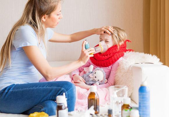 Ингаляции небулайзером при сухом и мокром кашле у детей – рецепты