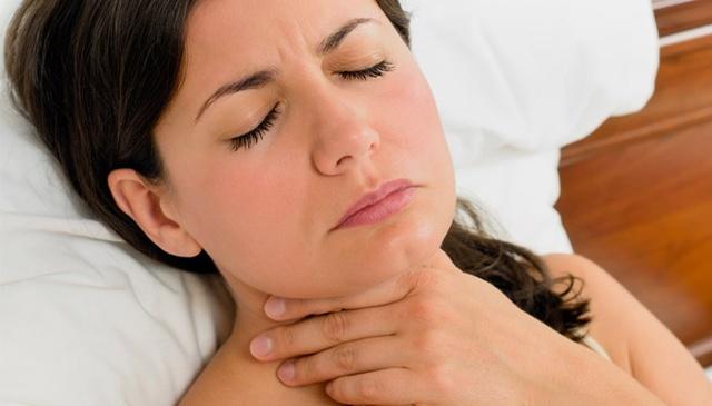 Какие бывают ощущения в горле