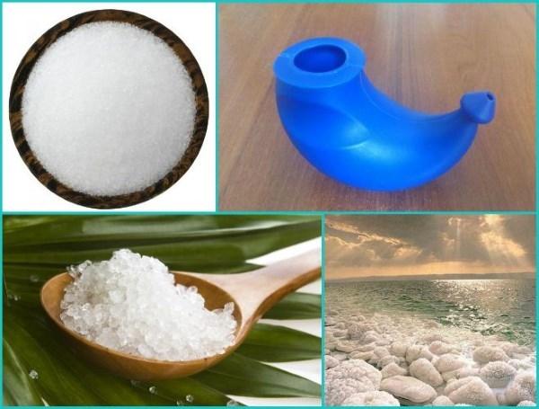 Морская соль для промывания носа в домашних условиях – раствор для полоскания
