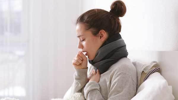 Высокая температура и сильный кашель у взрослого