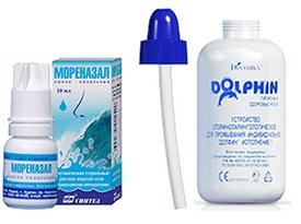 Спреи для промывания носа с морской водой