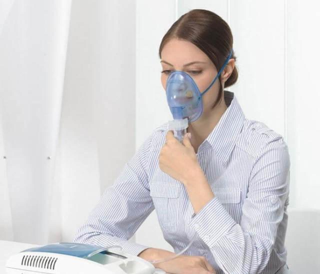 Ингаляции при тонзиллите - лечение небулайзером