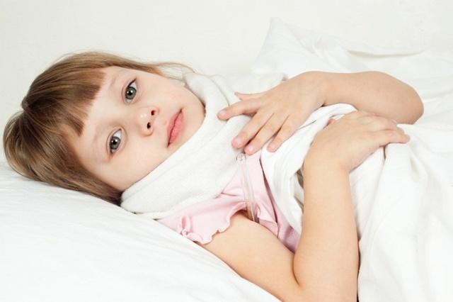 Сопли текут по задней стенке горла и носоглотки у ребенка