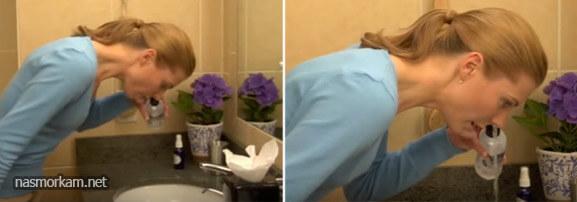 Как лечить гайморит перекисью водорода - как правиоьно капать и промывать нос