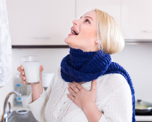 Чем полоскать горло при беременности