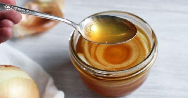 Лук с сахаром и медом от кашля для детей - рецепт приготовления