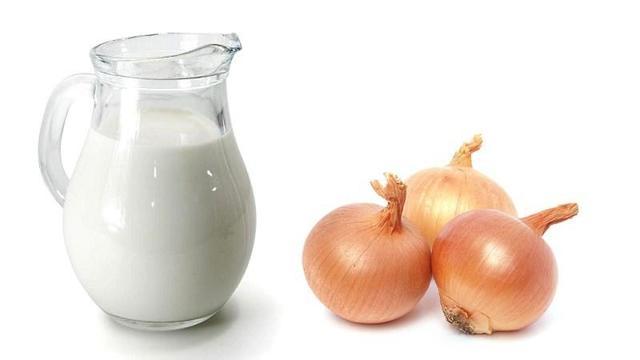 Молоко с луком от кашля – рецепт с пропорциями для лечения