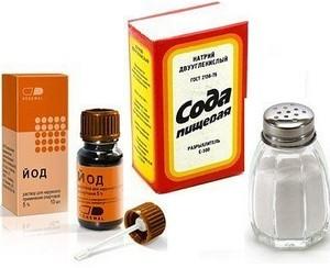 Полоскание горла солью и содой при беременности