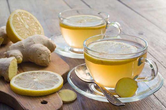 Чай с имбирем от простуды и кашля