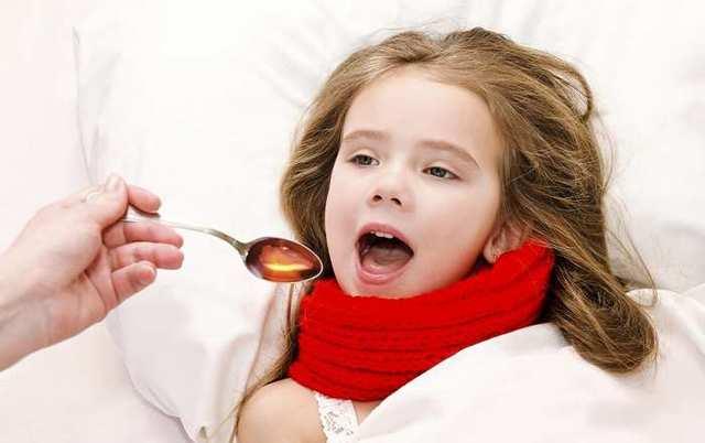 Сироп от сухого кашля для детей