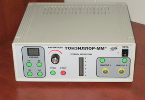 Вакуумное промывание миндалин аппаратом «Тонзиллор» и другими