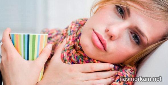 Боль в горле при глотании без температуры – как снять и лечение