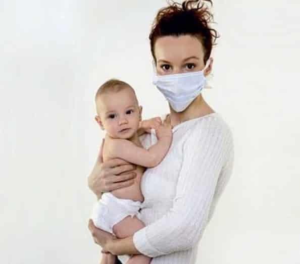 Ангина при грудном вскармливании у кормящей мамы (при лактации)