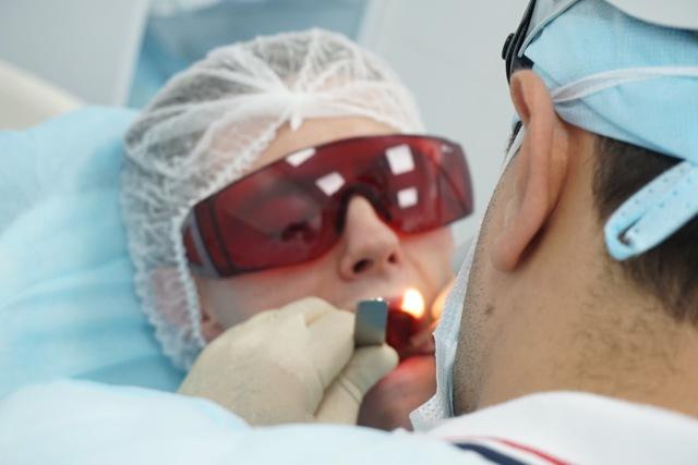 Лечение миндалин лазером - лазерная деструкция и абляция для прижигания