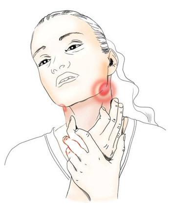 Как лечить красное горло у взрослого и что делать при воспалении задней стенки