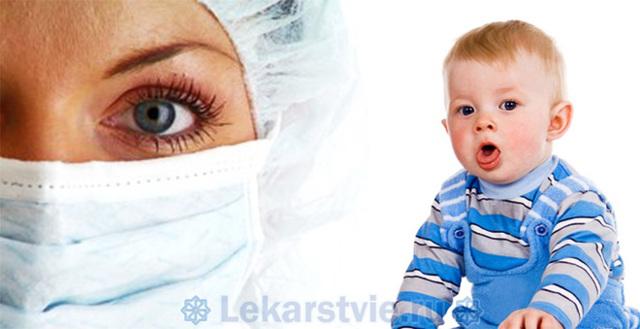 Лечение ложного крупа у детей - первая помощь и терапия ребенка