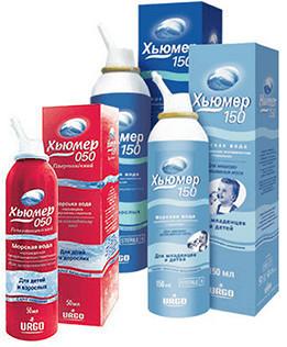 Средства и препараты для промывания носа и насморка с морской водой