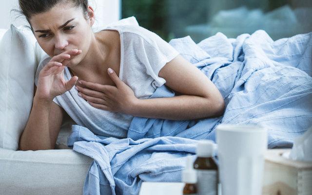 Боль в груди при кашле – отдает и жжет в грудной клетке