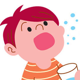 Чем и как полоскать горло ребёнку