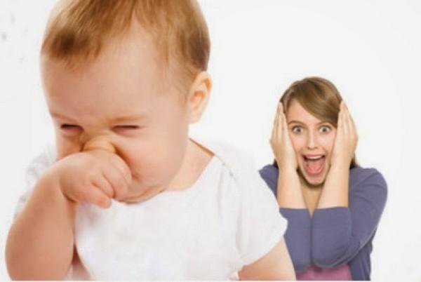 Почему ребенок хрюкает и шмыгает носом