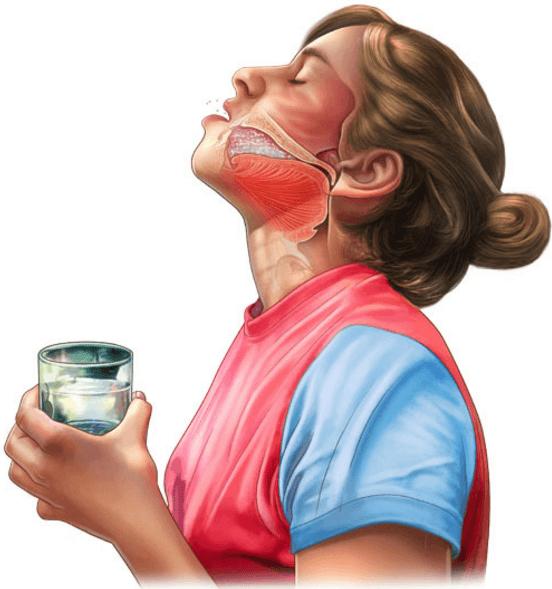Слизь в носоглотке – причины скопления и стекания по задней стенке