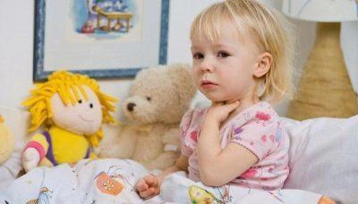 Лечение горла у детей народными средствами