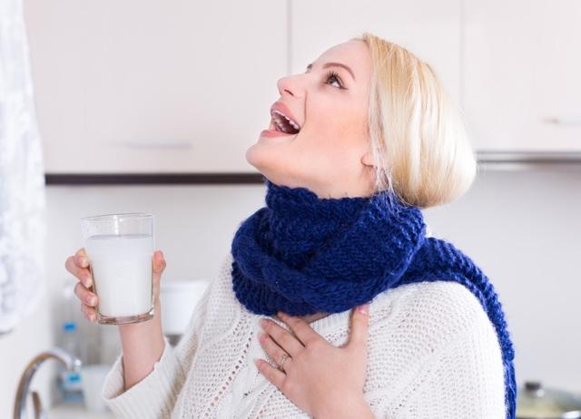 Что пить при ангине взрослому
