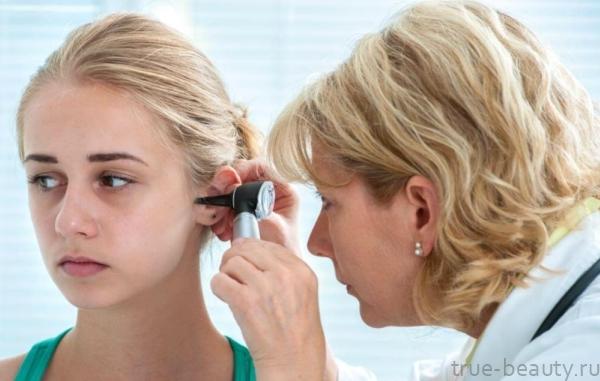 Прыщи в ухе – причины и лечение прыщиков в ушной раковине