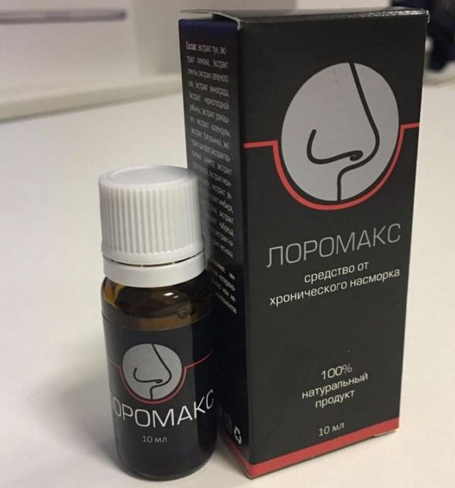 Капли «Лоромакс» для лечения насморка – инструкция и отзывы
