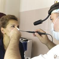 Прижигание сосудов в носу и слизистой лазером и серебром
