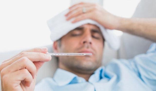 Почему после ангины держится температура 37 - 38 градусов