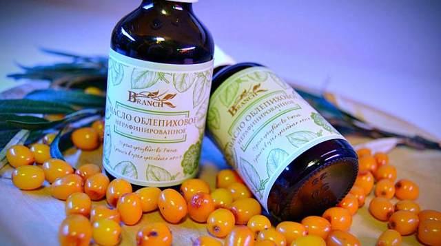 Полоскание горла маслом – чайного дерева, подсолнечным, облепиховым и др.