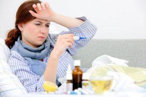Сколько дней держится температура при ангине и почему