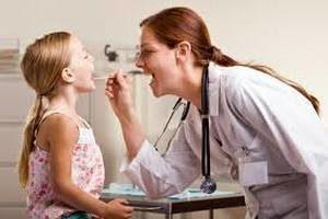 Гнойная ангина у ребенка с температурой и без