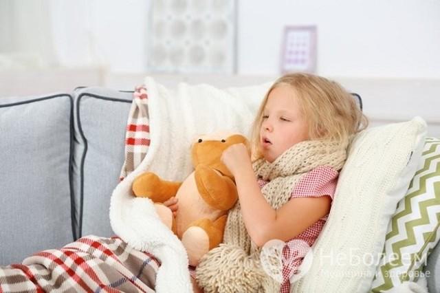 Лающий кашель у ребенка с температурой и без